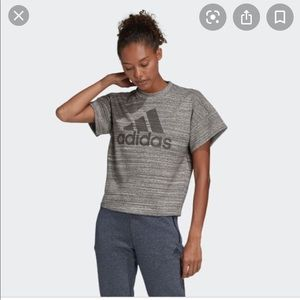 BRAND NEW - Adidas Melange French Terry T-Shirt